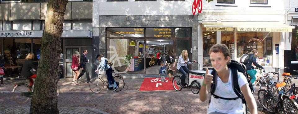 Slider Fietsenstalling Utrecht Godfried de Graaff