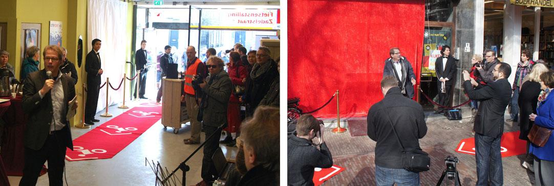 page Fietsenstalling Mariaplaats opening 1 Godfried de Graaff