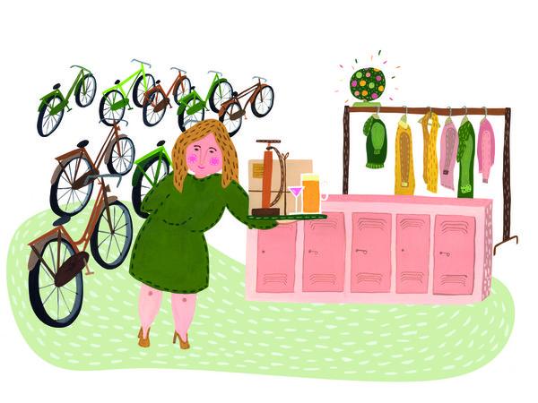 Service fietsenstalling Godfried de Graaff